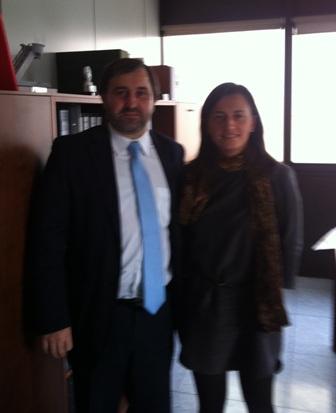 Reunión con la Directora General de la Vivienda