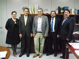 Visita a la Dirección General Vivienda (abril 2010)